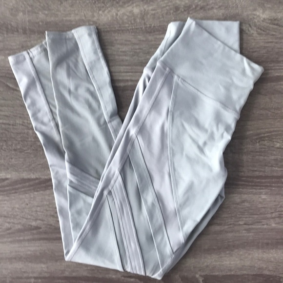 ALO Yoga Pants - Alo grey Moto leggings